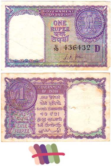 Indian Rupee as a design experiment
