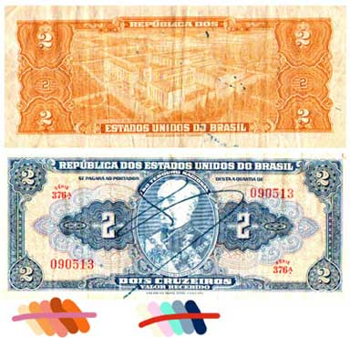 Foreign currency as a design experiment, inspiration