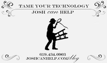 Letterpress designed business card