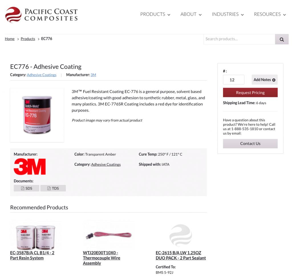 pcc-single-product